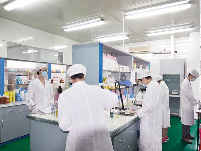 东莞国药洗衣液加工合作案例